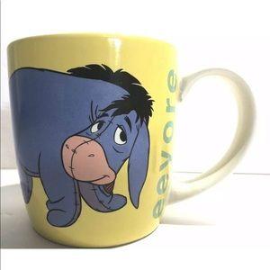 Disney store mug Winnie the Pooh eyesore donkeys
